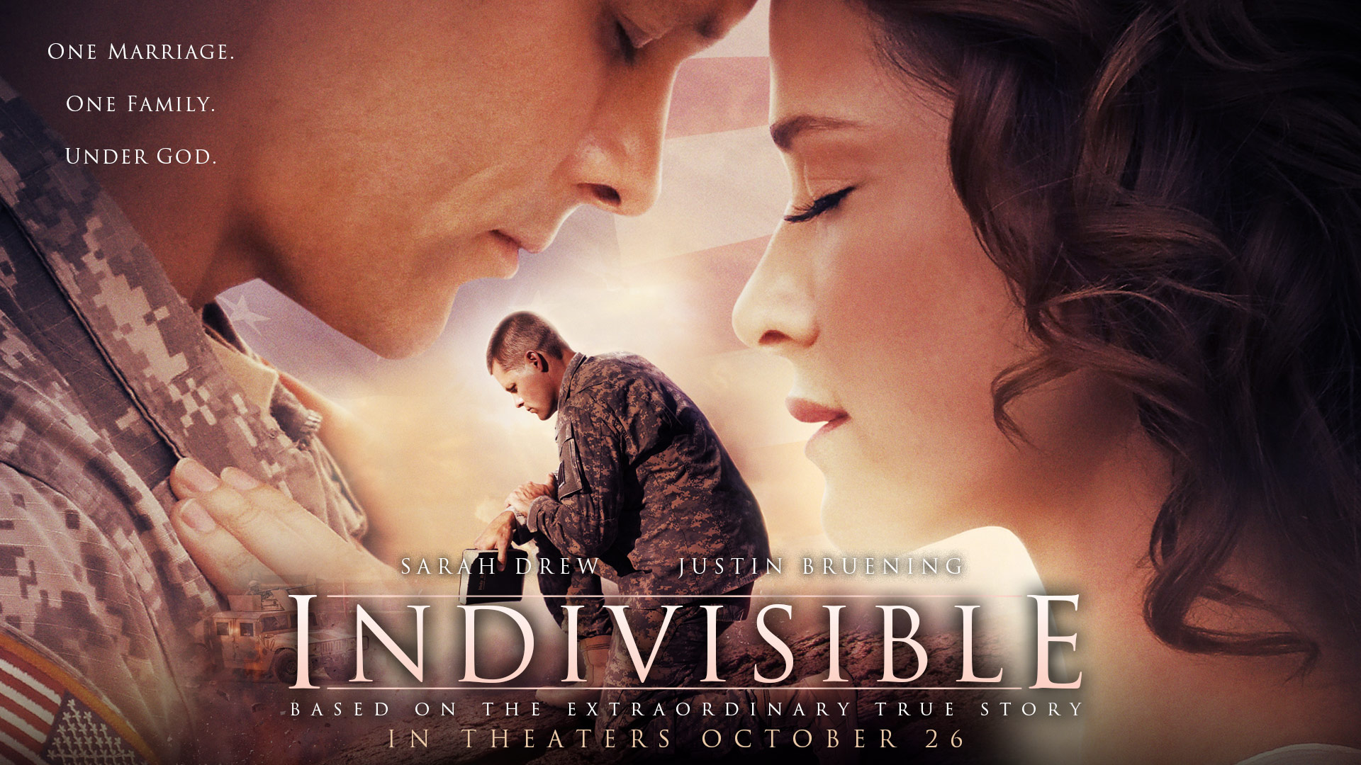 STIRRING NEW FILM 'INDIVISIBLE' PREMIERES NATIONWIDE OCT. 26