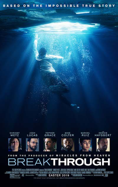 20th Century Fox releases BREAKTHROUGH Official Poster + Trailer