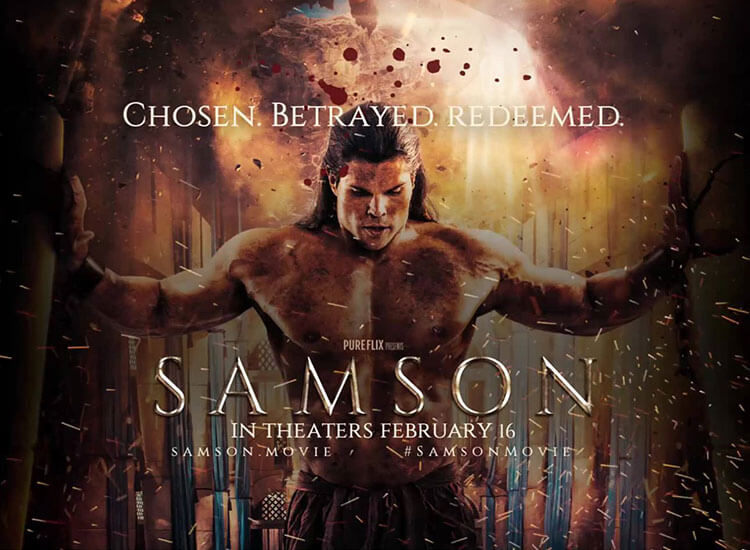 FROM PURE FLIX: OFFICIAL 'SAMSON' TRAILER DROPS TODAY