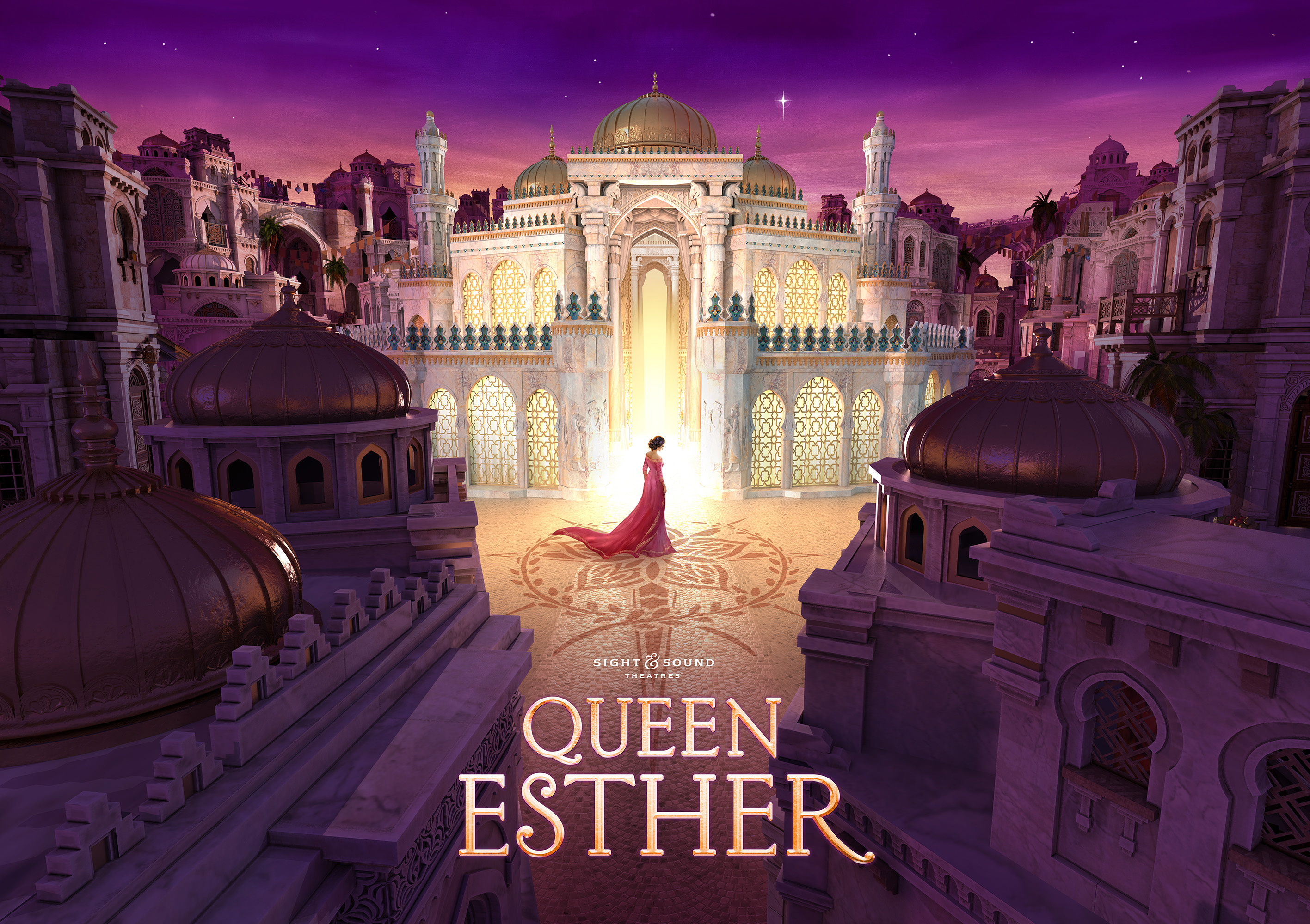SIGHT & SOUND THEATRES® TO BRING 'QUEEN ESTHER' TO LIFE ON STAGE IN 2020