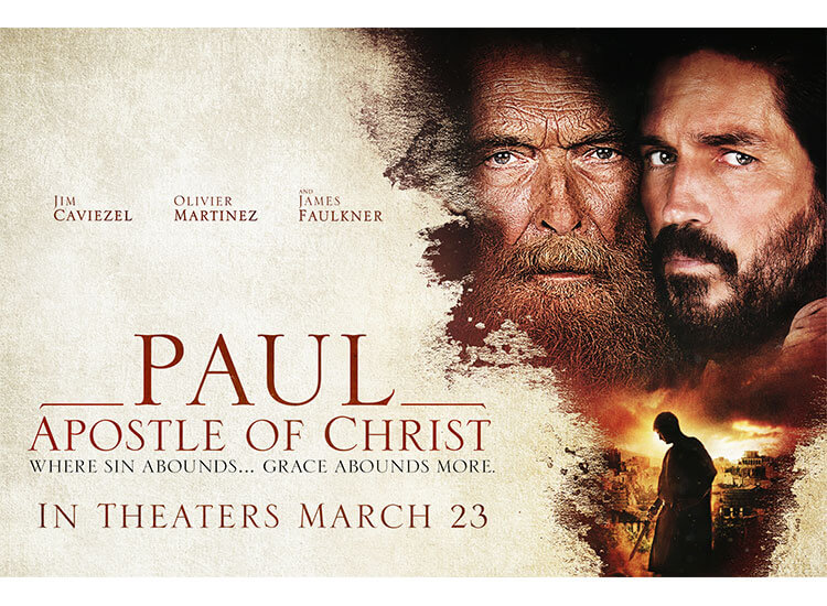 'PAUL, APOSTLE OF CHRIST' WITH JIM CAVIEZEL OPENS NATIONWIDE FRIDAY