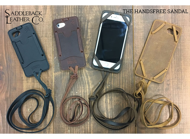 YOUR iPHONE SAFETY–IN THREE CASES: Saddleback Leather Debuts Three iPhone Cases That Grip Better, Insulate Longer, Drop Less