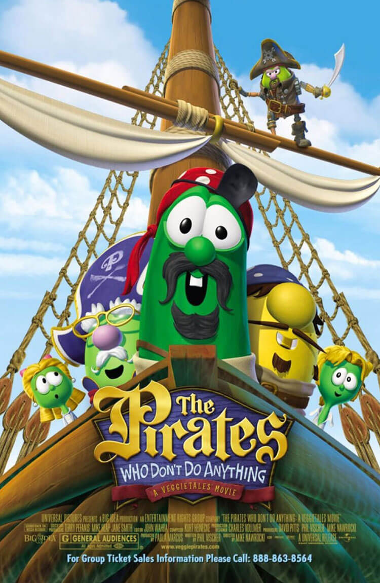 The Pirates Who Don't Do Anything: A Veggietales Story