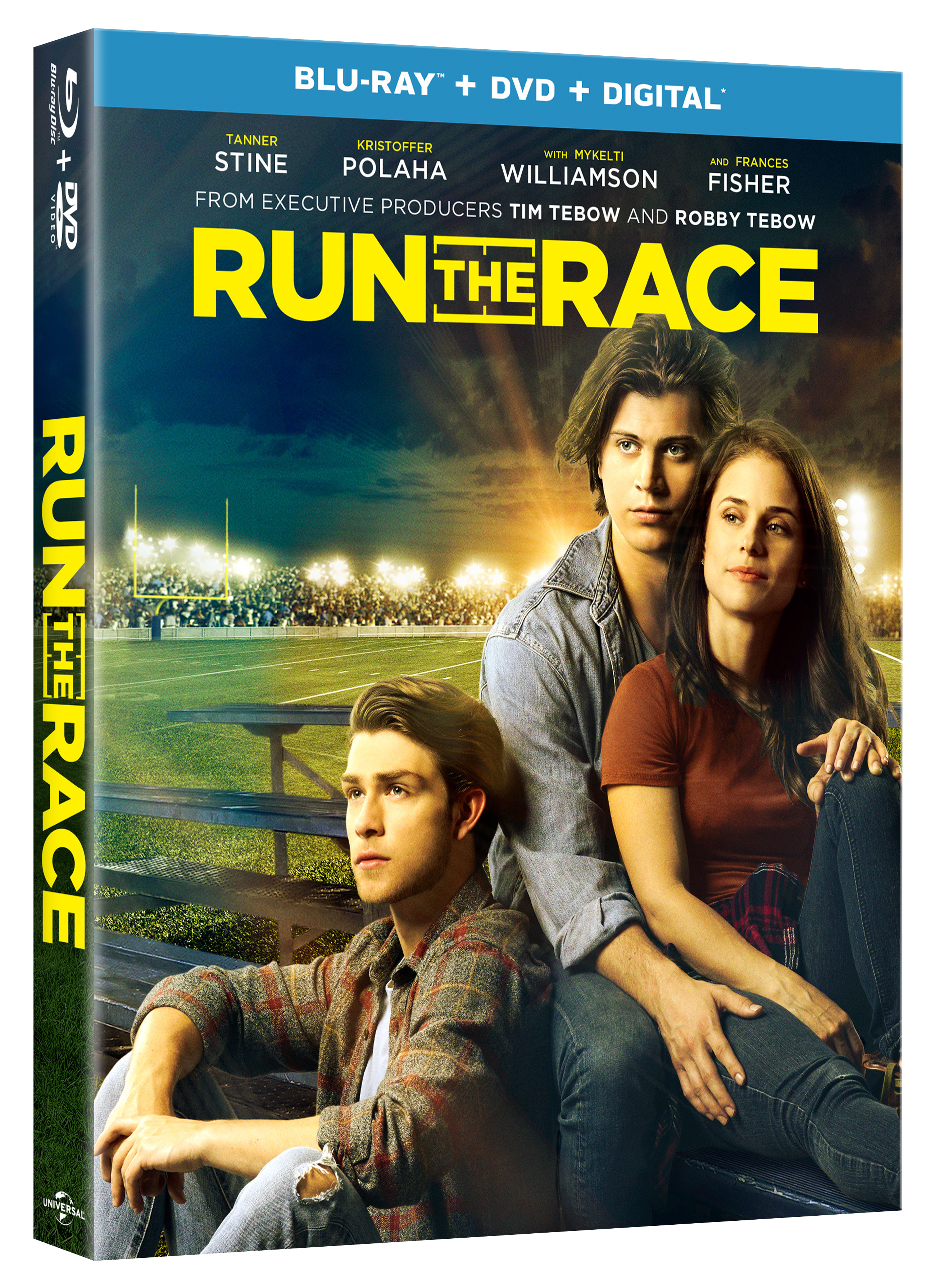 RUN THE RACE DVD + DIGITAL