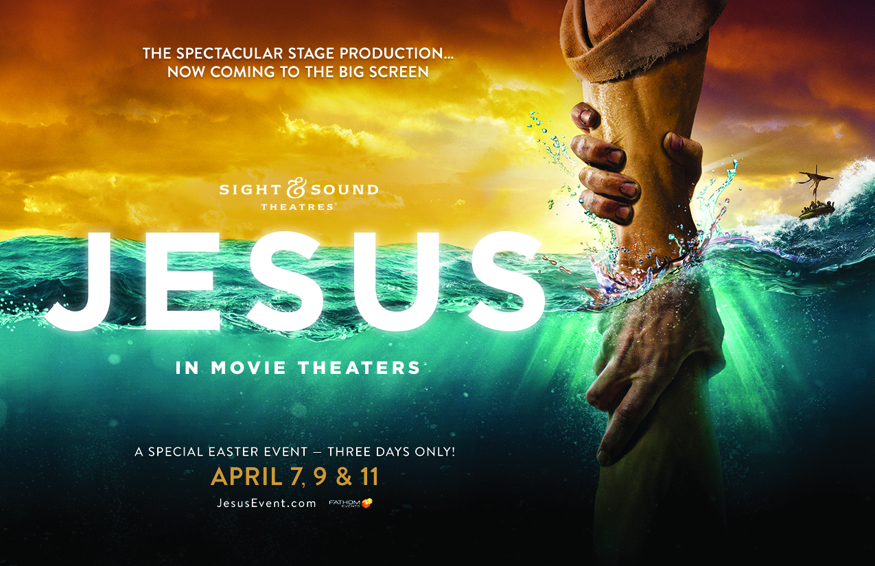 Epic Stage Production 'Jesus' Comes to Movie Theaters Nationwide for a Special Easter Event